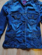 Jeansowy żakiet