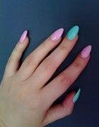 Moje żelowe paznokcie...