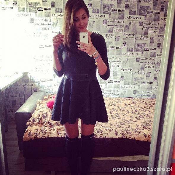 Romantyczne Rozkloszowana sukienka