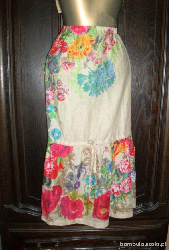 Spódnice Luna Elena super spódnica floral 42 44