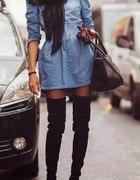Sukienka jeans 36