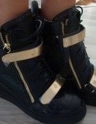 Sneakersy Giuseppe Zanotti skóra
