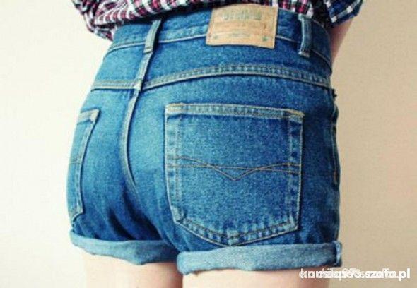 spodenki jeansowe poszukiwane...