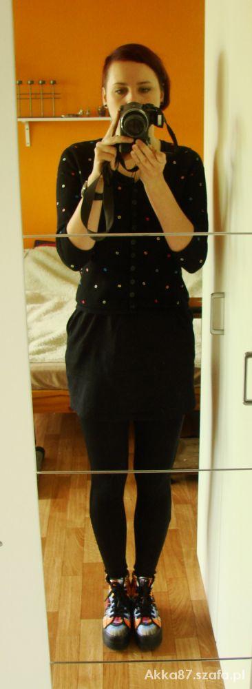 Mój styl Czarno ale kolorowo
