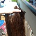 Włosy 100 naturalne clip in clip on doczepiane