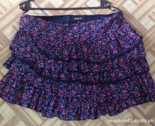 Spódnice Spódnica w kwiaty Xxl