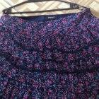 Spódnica w kwiaty Xxl
