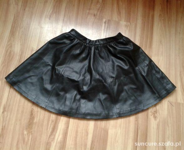 Spódnice skórzana spódnica