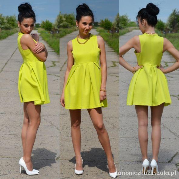 Blogerek lime dress