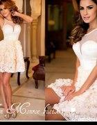 Sukienka róze 3d Marylin Monroe butik