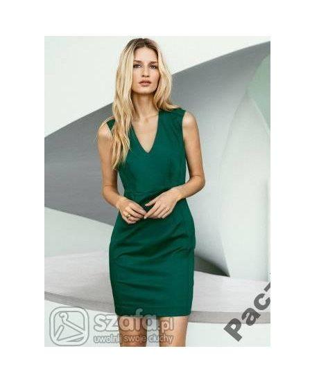 Sukienka HM zielona 34