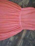 sukienka mohito brzoskwiniowa