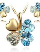 Bajeczny komplet biżuterii