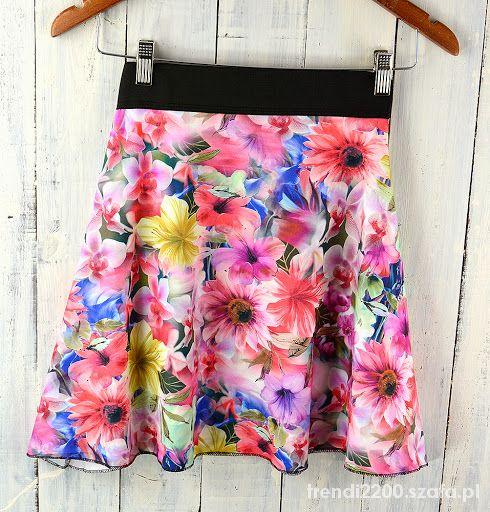 Spódnice W kwiatuszki