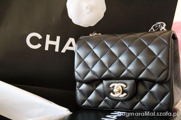c50593ceb3f7e Mala chanelka Replika Chanel Czarna w Torebki na co dzień - Szafa.pl