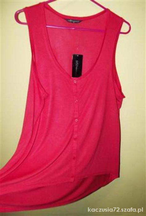 Bluzki internationale bluzka asymetryczna oversize długie