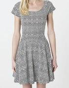 Sukienka z odkrytymi plecami na lato...