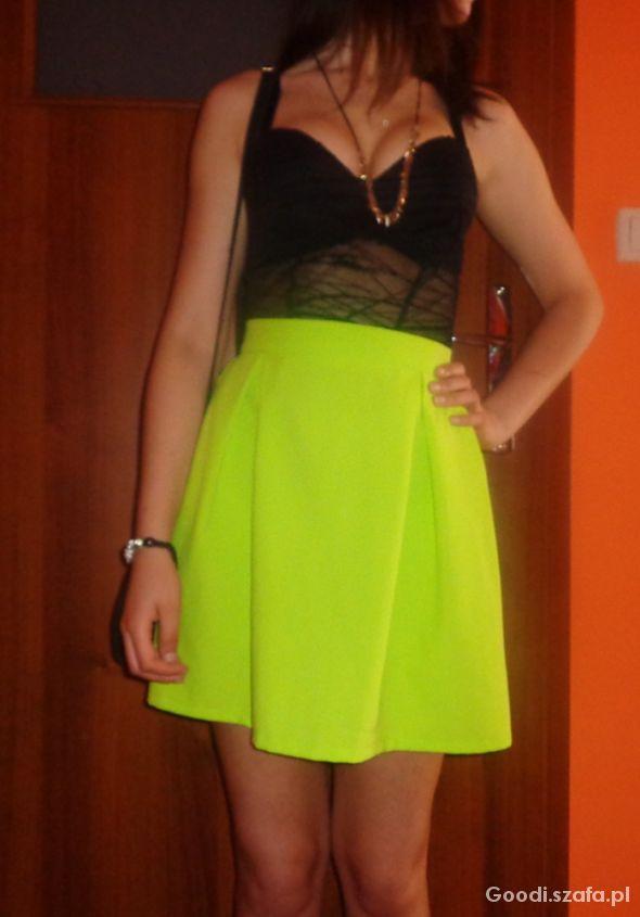 Eleganckie Lime & Black