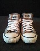 Krótkie szare buty converse
