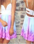 Sukienka Galaxy Wycięcia