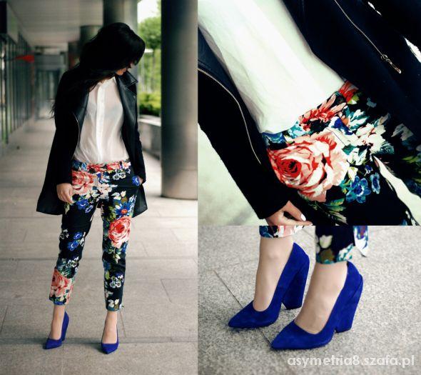 Blogerek Black Flower