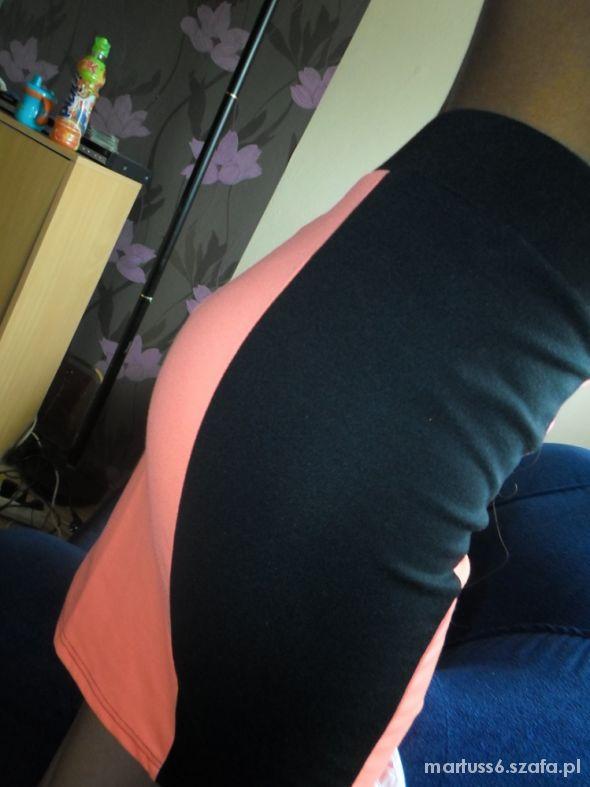 Spódnice spodnica neon olowkowa