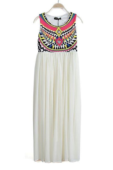 poszukiwana sukienka aztec etniczna free wysyłka