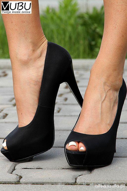 edf89dc5b8779 Platformy open toe skóra naturalna 38 bravo moda w Czółenka - Szafa.pl