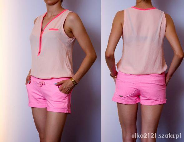 Bluzki na różowo