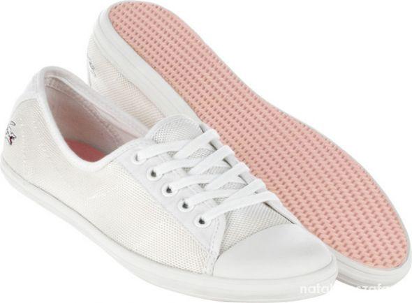 Trampki białe np Lacoste TH Converse...
