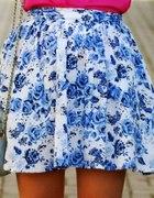 spódniczka floral hm
