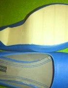 Niebieskie buty na obcasie rozmiar 40