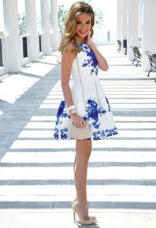 Suknie i sukienki wysylka gratis sukienka zakardowa porcelana