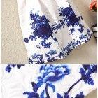 wysylka gratis sukienka zakardowa porcelana