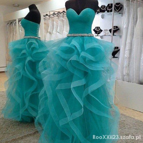 Wieczorowe Suknia