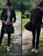 Mint & black