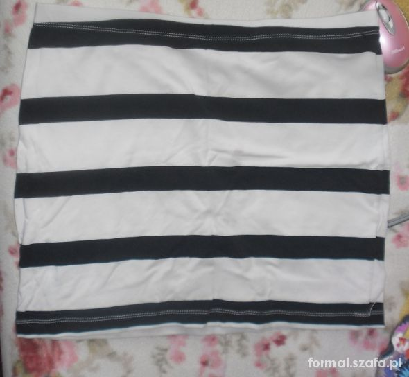 Spódnice H&M bandażowa bandage spóniczka w paski pasiak