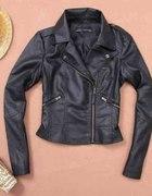 Ramoneska kurtka czarna XS S