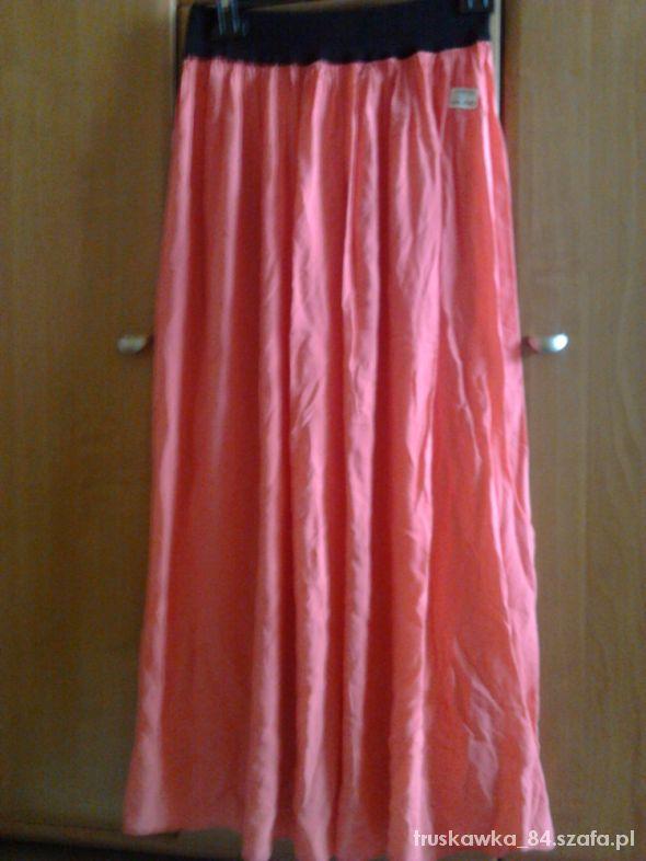 Spódnice Sukienka długa maxi malinowa rozmiar uniwersalny