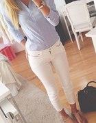 Niebieska koszula elegancka