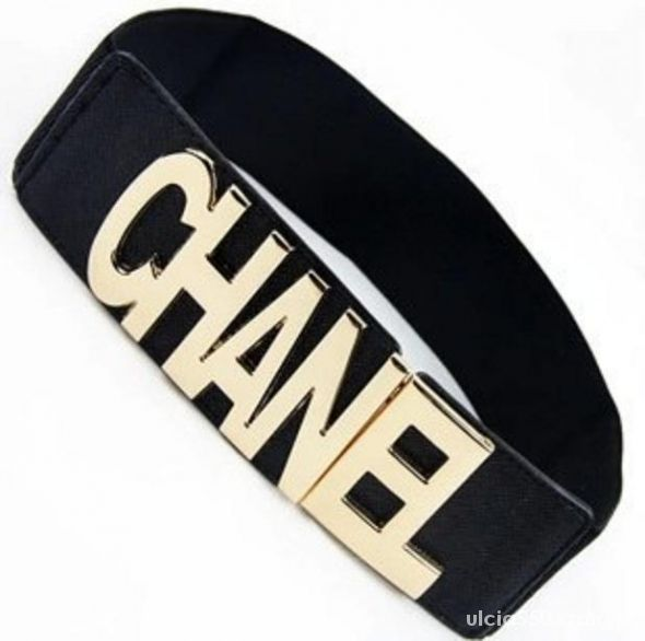 NOWY Pasek CHANEL na gumie