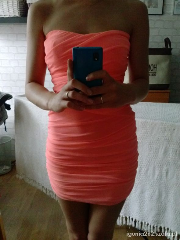 Sukienka neonowa Tally Weijl