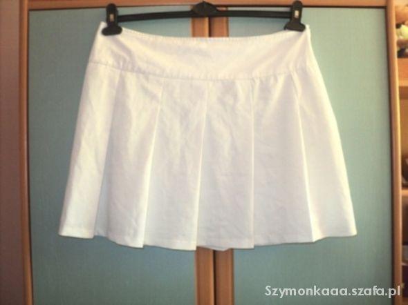 Spódnice Spódniczka biała rozmiar XL