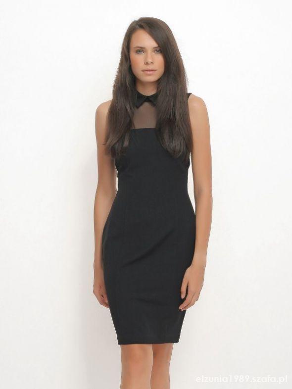 PILNE Czarna sukienka Top secret...
