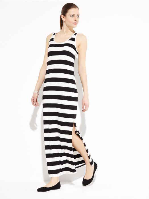 Suknie i sukienki Sukienka maxi pasiasta paski