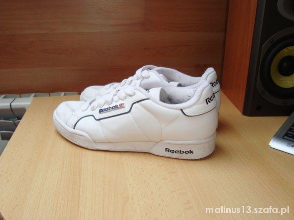 buty białe Reebok 39 w Sportowe Szafa.pl