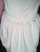 Dresowa dekatyzowana sukienka