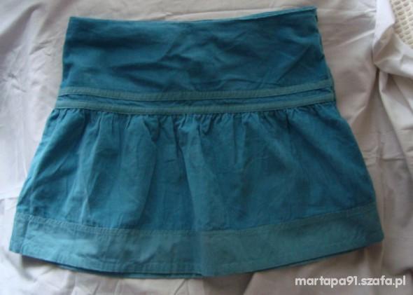 Spódnice niebieska spódniczka tanio