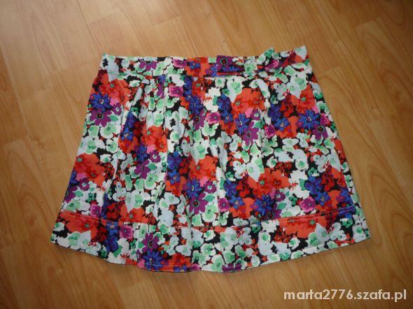 Spódnice Spódniczka Atmosphere roz 46 floral urocza