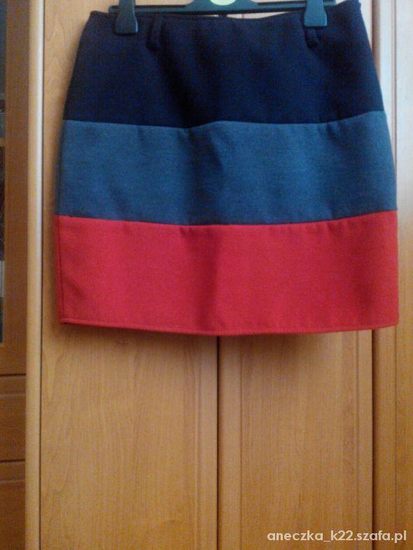Spódnice Spódniczka trzykolorowa